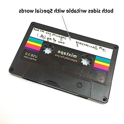 Enfain Drive USB Cassette Tape Gifts on Day, Birthday