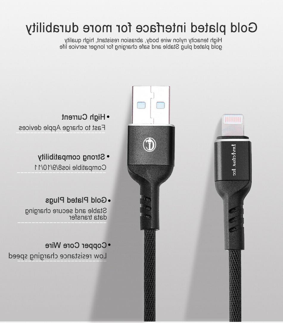 USB Cord Lightning Cable iPhone 8 XS XR X