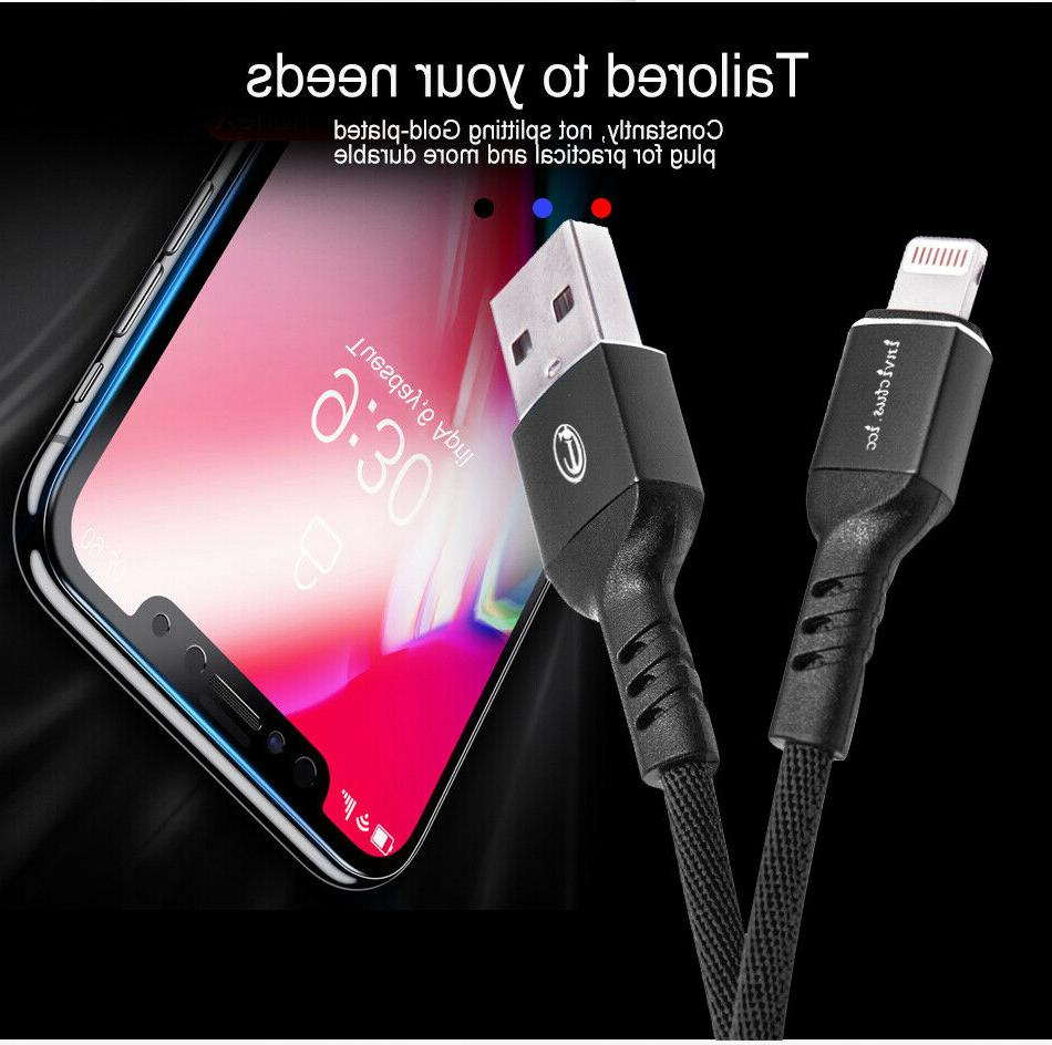 USB Charger Lightning Cable iPhone 7 8 XS X