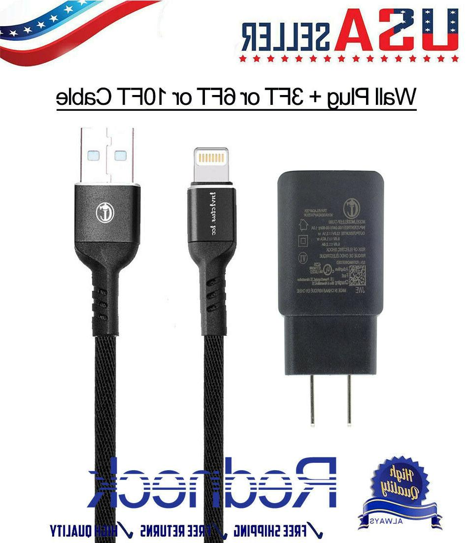 usb charger cord 3 6 10ft lightning