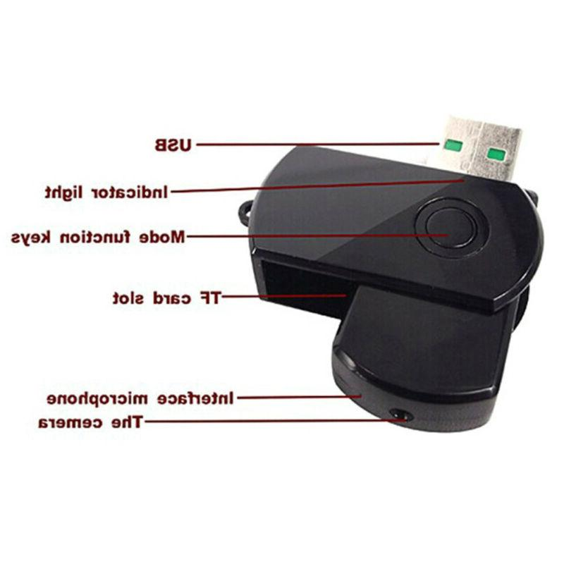 Usb spy video rechargable home security