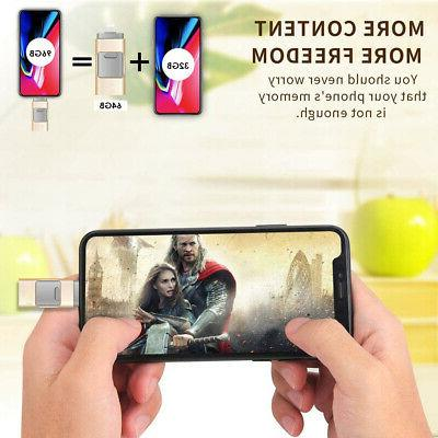 USB Drive Disk Storage Memory For iPhone Max/X