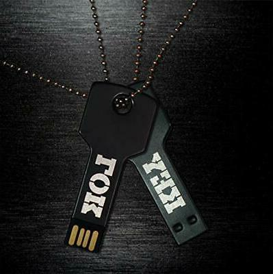 USB Flash Drive Necklace Keychain Friendly,