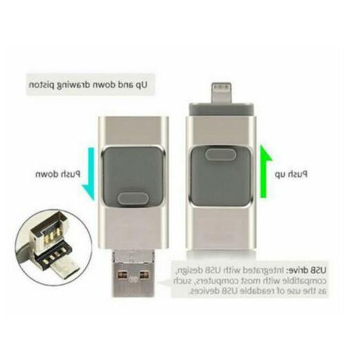 USB Flash Drive 3 1 For Android OTG Up to GB