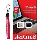 SanDisk 32GB USB SD CZ33 Cruzer Fit 32G USB 2.0 Pen Drive SD