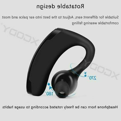 V11 Bluetooth Earphone Earhhook Driving Headset with
