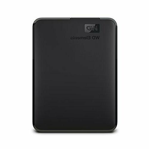 WD 4TB Elements Portable External Hard Drive - USB 3.0 - WDB