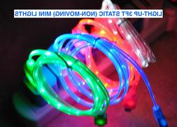 LIGHTED LED phone charger data cable for APPLE SAMSUNG LG HT