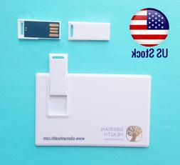 8GB  USB 2.0 Credit Card Size Flash Card Stick Memory Stick