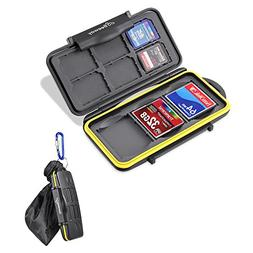 Beeway® Memory Card Case Holder for SD SDHC SDXC Compact Fl