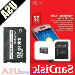 32GB Memory Stick and MS Pro Duo Adapter Card for PSP Cybers