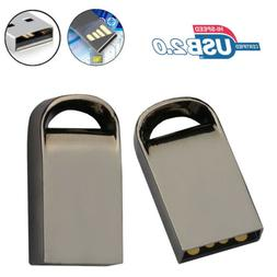 Metal USB 2.0 Flash Memory Stick Pen Drive Storage U Disk Gi