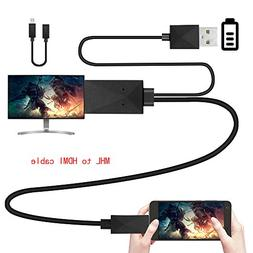 Geekercity MHL Micro USB to Hdmi Adapter Converter Cable 108