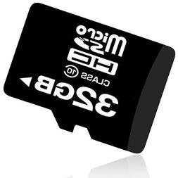 32GB Micro SD SDHC TF Memory Card Class 10 w/ SD Adapter For