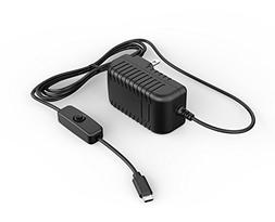 Yuconn Micro USB with On/Off Switch Main Wall Charger AC Ada