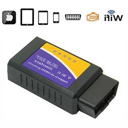 Mini ELM327 Wi-Fi OBD2 OBDII WiFi For iPhone Android PC Car