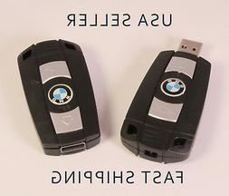 NEW 16GB BMW USB Flash Drive in the style of a Car Key! Uniq
