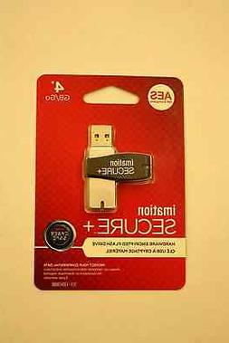 NEW 4GB imation SECURE+ AES 256 Encryption USB Flash Drive L