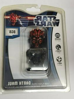 New Star Wars 8GB USB Flash Drive Darth Maul- Gift Idea, Sta