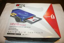 NEW IOMEGA ZIP100 EXTERNAL DRIVE Z100USB 100MB USB POWERED P