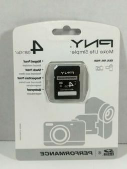 PNY Performance 4GB SD Card
