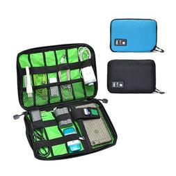 Portable Electronic Accessories Cable USB Drive Organizer Ba