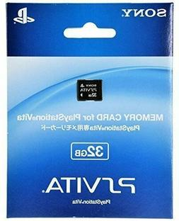 Sony PS Vita Playstation Vita Memory Card 32GB from japan