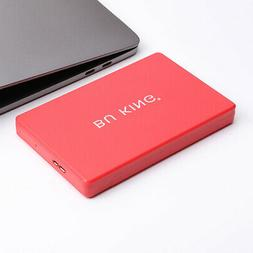 """Red 1T 2.5"""" USB 3.0 Hard Drive Disk HDD for Laptop Computer"""