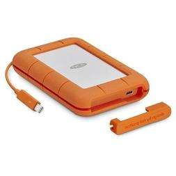 *BRAND NEW* LaCie Rugged 2TB Thunderbolt External USB 3.1 Po