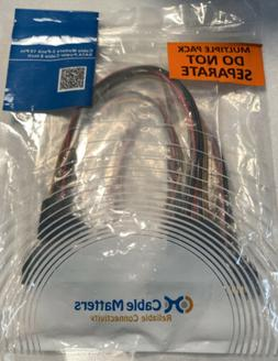 Cable Matters 3-Pack 15 Pin SATA Power Extension Cable 8 Inc
