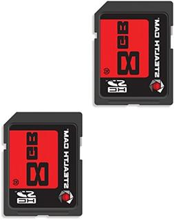 Stealth Cam 8GB STC-2SD8GB SD Card Pack of 2