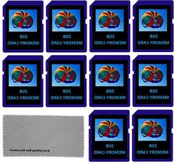 Everything But Stromboli 2 GB 2G 10-Pack SD Style Flash Memo