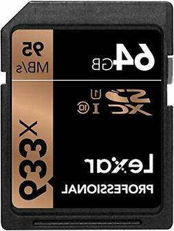 Sdhc Uhsi Lexar Professional 64Gb Sd Card Image Rescue 95 Mb