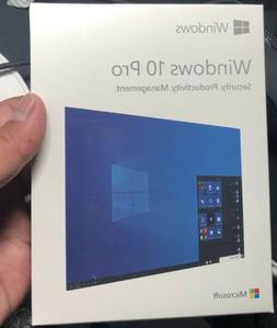 Microsoft Windows 10 Pro USB Drive 32/64 bit Full Box Versio