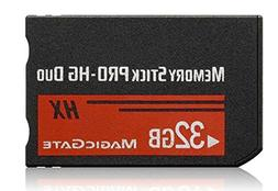 Top-BR High Speed Memory Stick Pro-HG Duo 32Gb  PSP Accessor