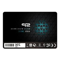 Silicon Power 256GB SSD 3D NAND A55 SLC Cache Performance Bo