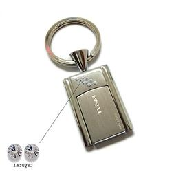Faost Design 32GB Swarovski Crystal DM329132 Key Holder Silv