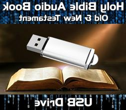 THE HOLY BIBLE AUDIO BOOK MP3 USB DRIVE - OLD & NEW TESTAMEN