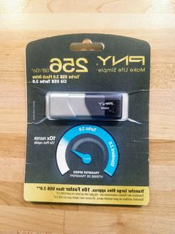 PNY Turbo 256GB USB Flash Drive  Sealed In Packaging