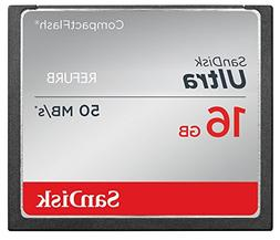 SanDisk ULTRA 16GB CompactFlash CF Memory Card Speed Up To 5