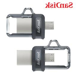 SanDisk Ultra Dual 16GB  USB 3.0 OTG Flash Memory Pen Drive