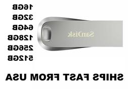 SanDisk Ultra Luxe USB 3.1 Flash Drive 16G 32G 64GB 128GB 25