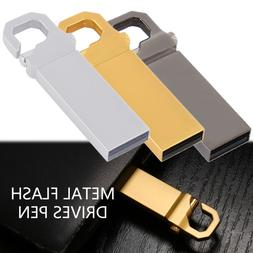 USB 2.0 2TB Flash Drives Memory Metal Flash Drives Pen Drive