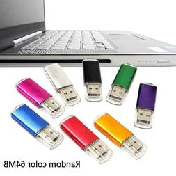 USB 2.0 64MB Memory Stick Thumb Drive PC LAPTOP Storage V2X3