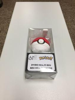 Pokemon USB 2.0 Flash Drive 16 GB PokeBall New in Package