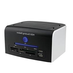 Awolf USB 2.0 Multi-function 2.5 3.5 SATA IDE HDD Docking St