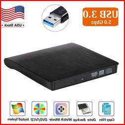 USB 3.0 DVD RW CD Writer Drive Burner Reader External Player