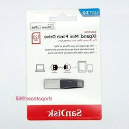 Sandisk 128GB USB 3.0 iXpand Mini Flash Drive Stick for iPho