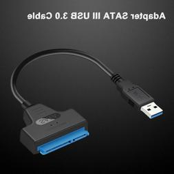 USB 3.0 to SATA 2.5″ Adapter Cable Reader for External SSD