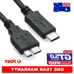 USB 3.1 Type-C USB-C To Micro USB 3.0 M/M Adapter Cable Hard